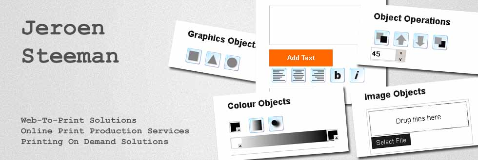 Interactive-Web-To-Print Services and Solutions