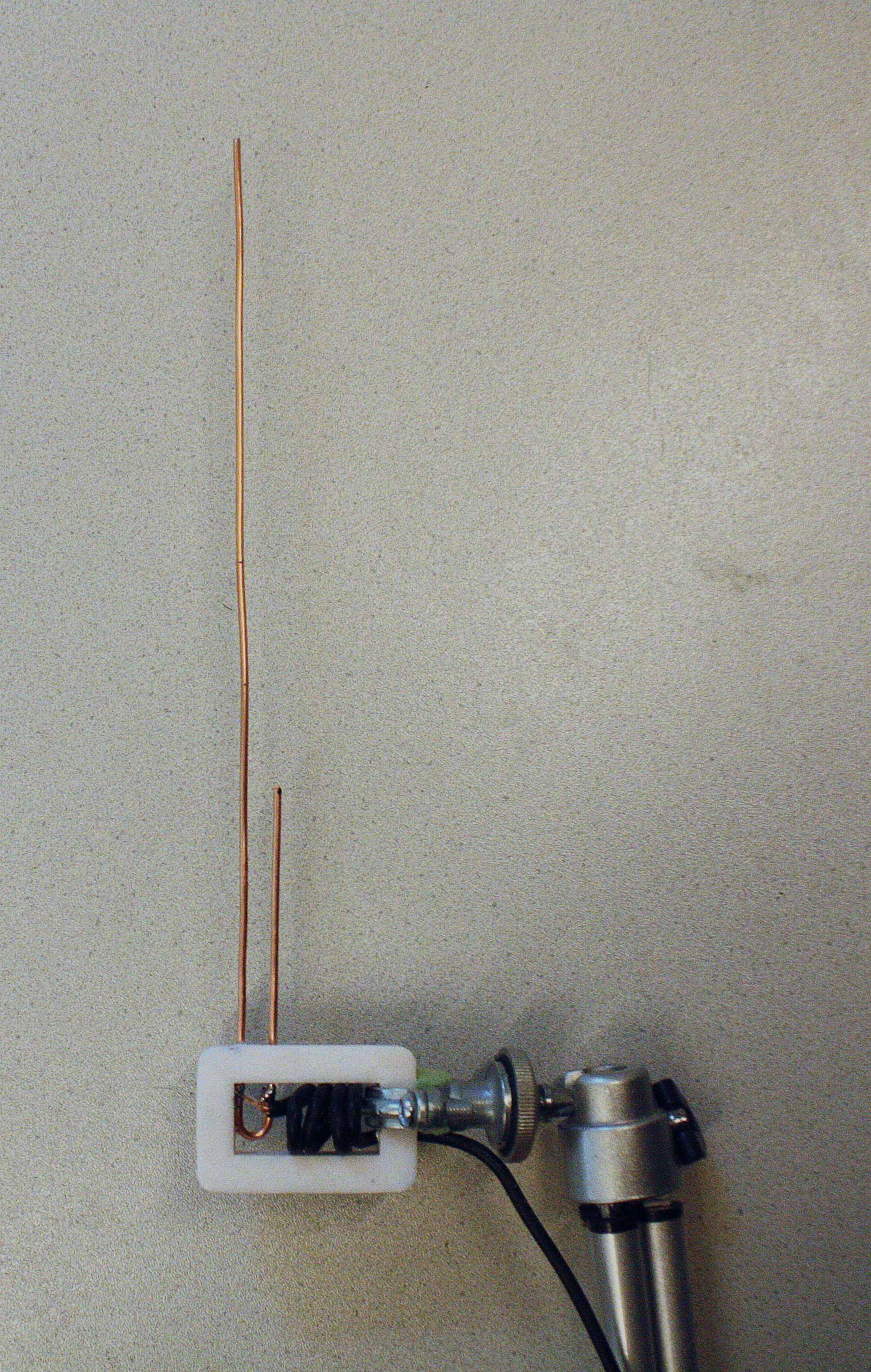 J-Pole antenna for 1090 MHz