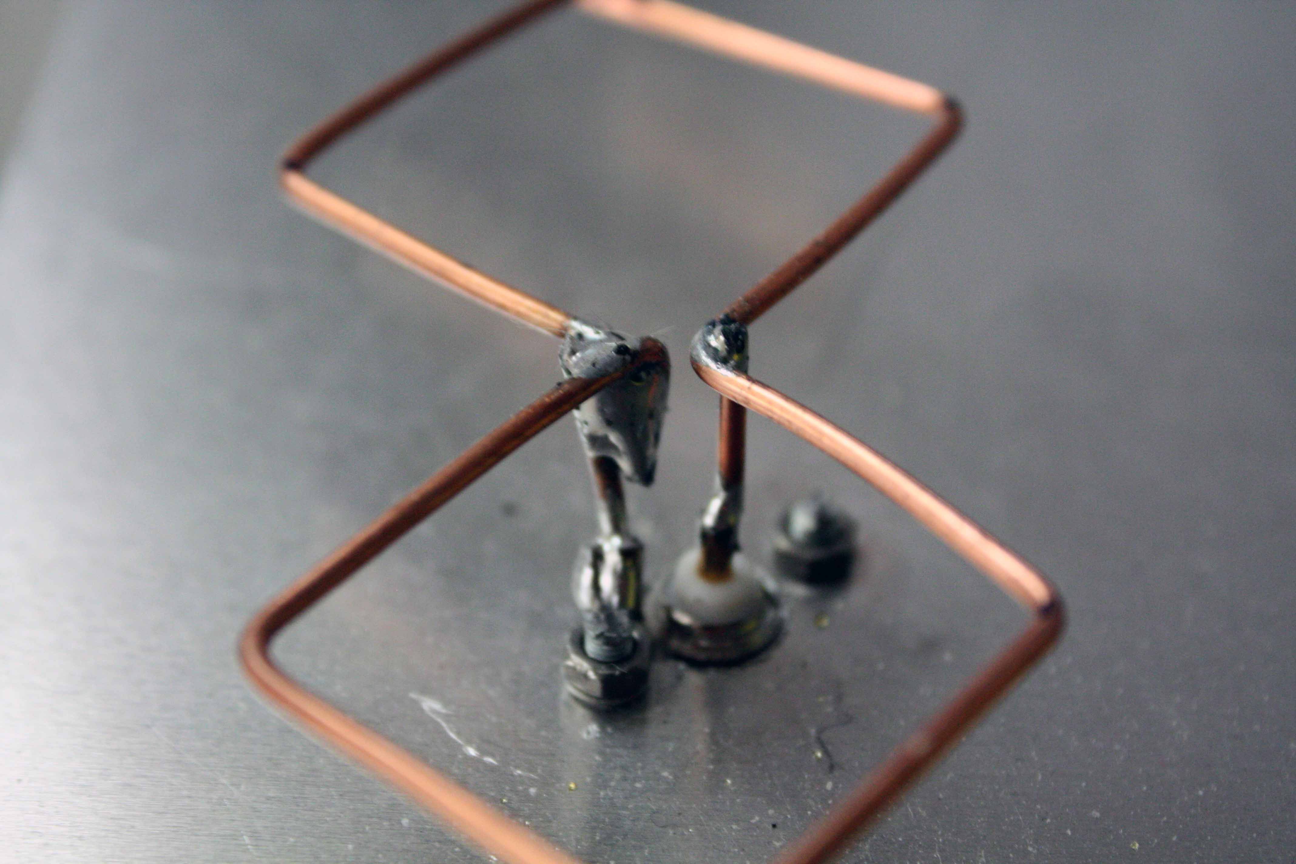 Double Bi-quad Antenna Calculator